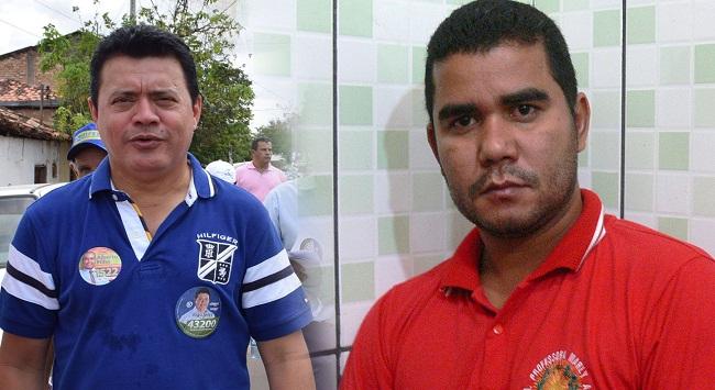 Deputado Rigo Teles bate-boca com o diretor Evandro Rodrigues dos Santos