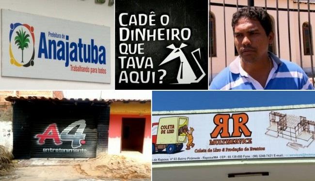 Raimundo Nonato Silva Abreu Júnior é laranja na empresa A4 Serviços