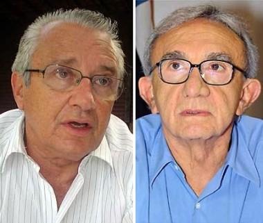 Ex-governadores Zé Reinaldo e Jackson Lago