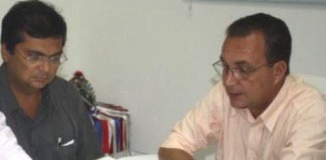 Flávio Dino e Luis Fernando em reunião secreta no Panaquatira
