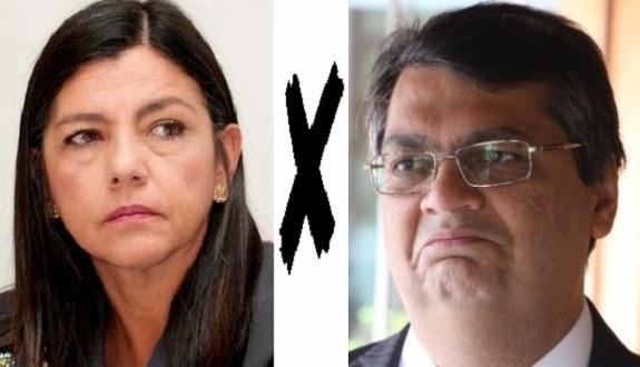 Governadora Roseana Sarney e governador eleito Flávio Dino