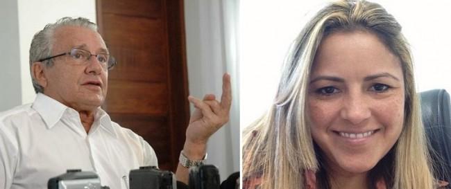 Zé Reinaldo e Cynthia Mota