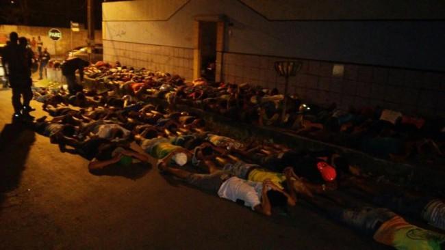 Quase 100 integrantes do Bonde dos 40 são presos em São Luís-MA