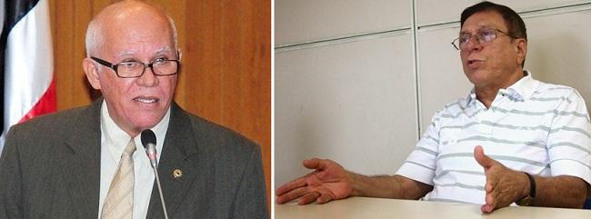 Deputado Edson Araújo e o futuro secretário Julião Amin