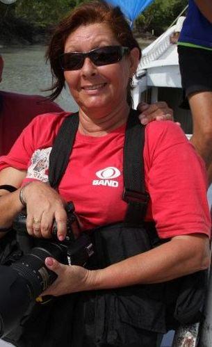 Repórter-fotográfica Racciele Olivas