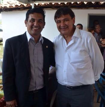 Deputado Wellington do Curso (PPS/MA) e o governador do Piauí, Wellington Dias (PT/PI).
