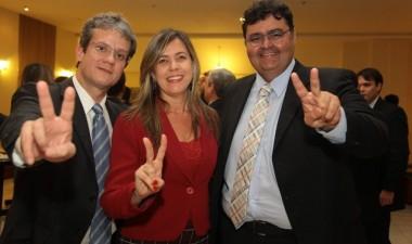 Advogados Ulisses César Martins de Sousa, Valéria Lauande e Mário Macieira