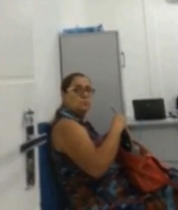 Ex-prefeita Maria Arlene Barros na Seic