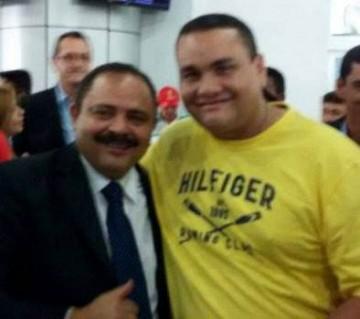 Waldir Maranhão e o empresário Matinas Pancadão