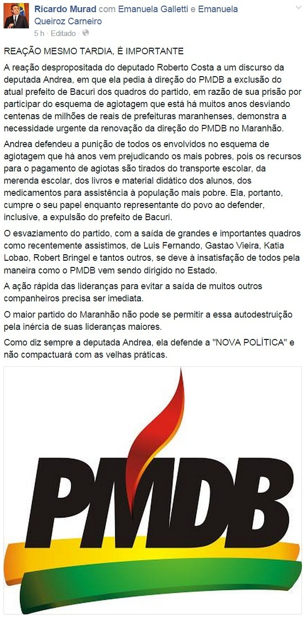 Ricardo Murad - Facebook