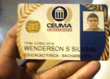 Estudante Wenderson Silvina,