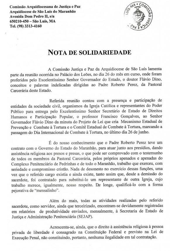 Arquidiocese de São Luís - Padre Roberto Perez