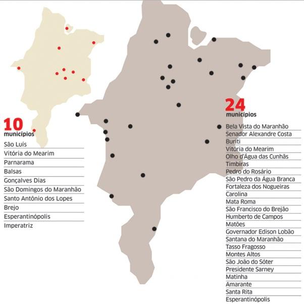Infográfico do Jornal O Estado