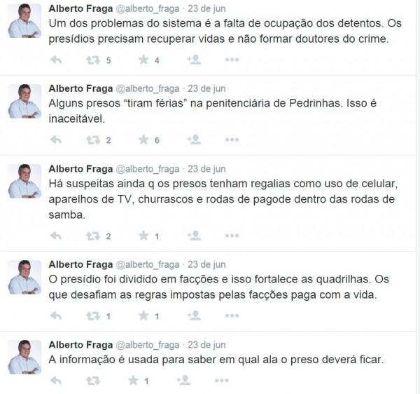 Deputado Alberto Fraga - Complexo de Pedrinhas