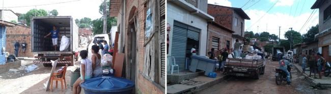 Moradores do Coroadinho vivem dia de terror e resolvem se mudar do bairro