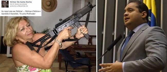 Delegada Nilmar da Gama Rocha é contra Weverton Rocha não votar a favor pela redução da maioridade