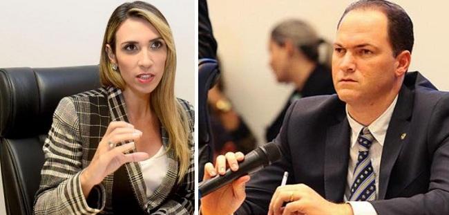 Deputados Andrea Murad e Sousa Neto