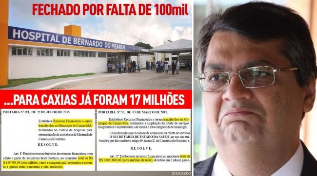 Hospital de Bernardo do Mearim - Governo Flávio Dino