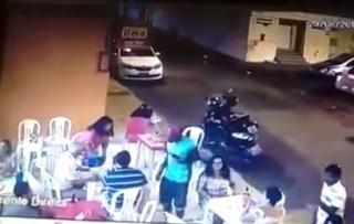 Assalto no churrasquinho do Lima no Vinhais, em São Luís-MA