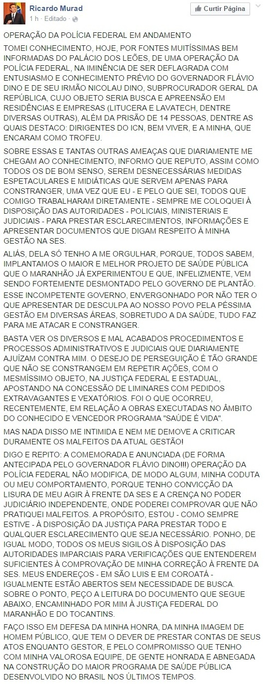 Ricardo Murad - Operação PF