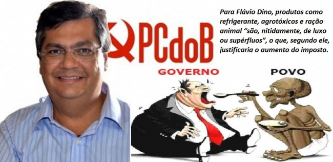 Flávio Dino - Impostos