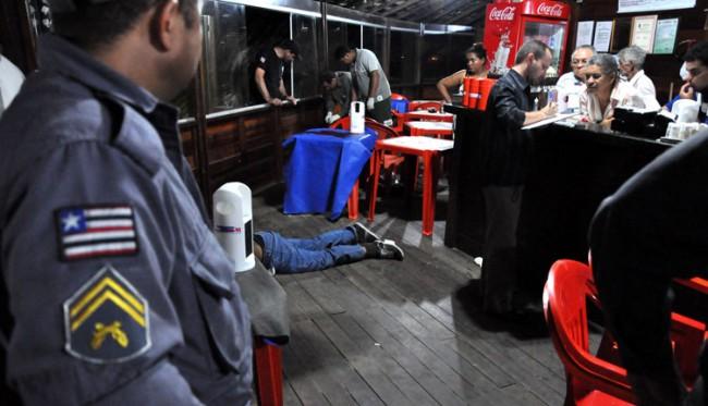 O jornalista e blogueiro Décio Sá foi morto em 2012 em um bar na Avenida Litorânea