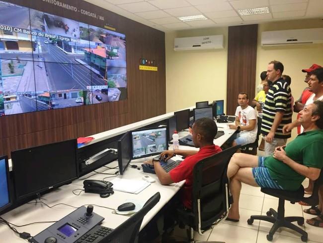 Sistema de Videomoritoramento de Coroatá-MA