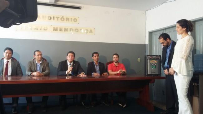 Secretário de Segurança, delegado Jefferson Portela, anuncia inauguração de delegacia que não existe em Imperatriz