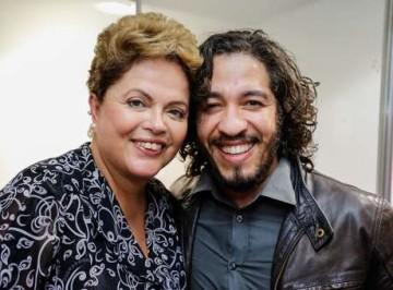 Dilma e Jean Wyllys