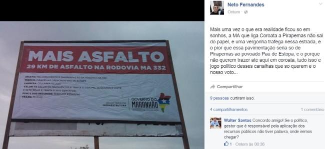 Mais Asfalto - Governo Flávio Dino