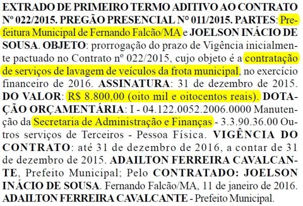 Prefeitura de Fernando Falcão - dia 18 de janeiro (2)
