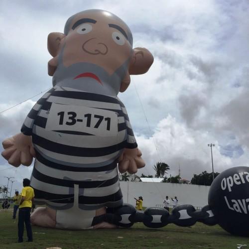 Pixuleco de Lula em São Luís é rasgado por petistas