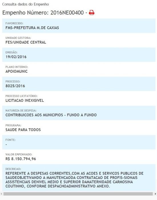 Prefeitura de Caxias