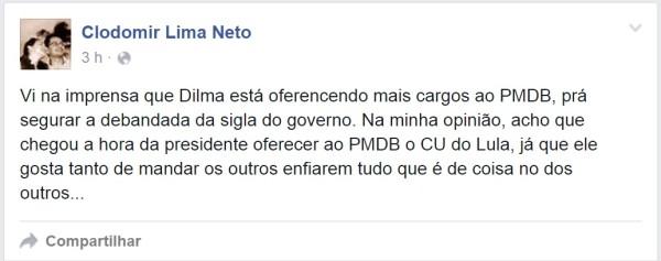 Promotor Clodomir Lima Neto