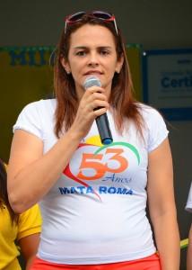 prefeita Carmem Silva Lira Neto