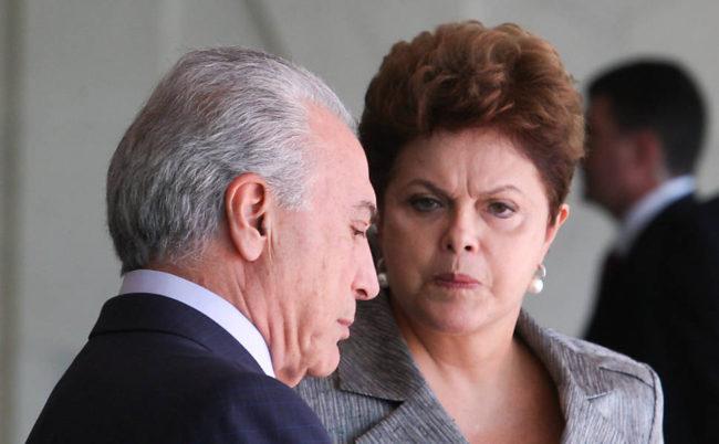 Dilma e Temer travam batalha na Câmara Federal