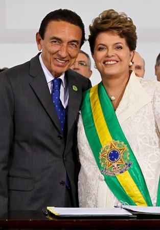 Edison Lobão e Dilma
