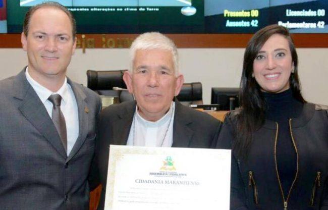 Deputado Sousa Neto, Dom Belisário e sua esposa Tatiana Murad