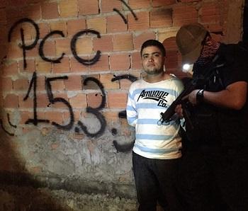 Jheykison é suspeito de comandar braço da facção paulista no Maranhão