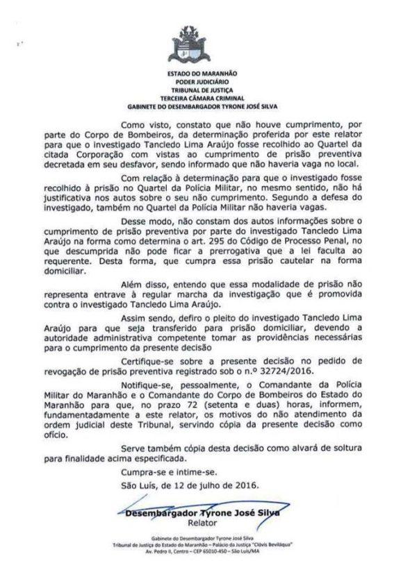 Prefeito de Paulo Ramos, Dr. Tanclêdo (1)