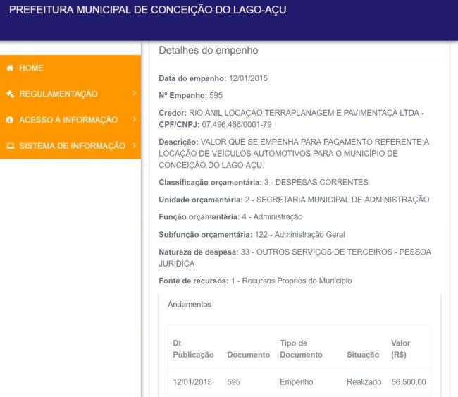 Prefeitura de Conceição do Lago-Açu