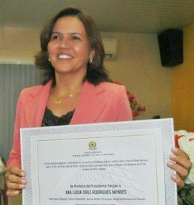 Prefeita Ana Lucia