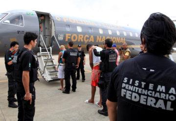 Transferência de detentos para presídio federal (imagem ilustrativa)