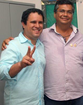 Edivaldo Holanda Júnior e Flávio Dino juntos
