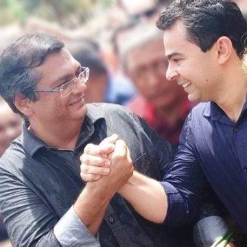 Governador Flávio Dino e o prefeito Eric Costa