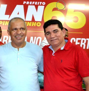 Venancinho e Alan: ex-prefeito e prefeito