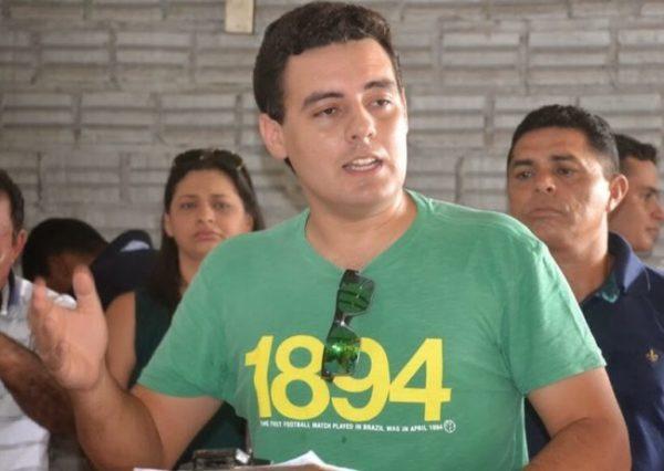 Prefeito Marcel Everton Dantas Silva, o Marcel Curió