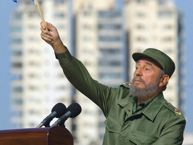 Fidel Castro foi um dos personagens da política internacional durante mais de seis décadas