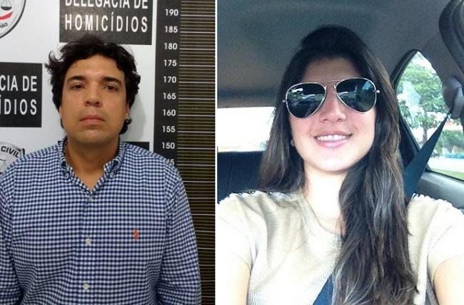 Lucas Porto ao lado da cunhada Mariana Costa
