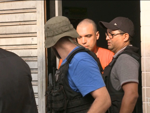 Lucas  Porto, de 37 anos, principal suspeito de matar sobrinha-neta de Sarney